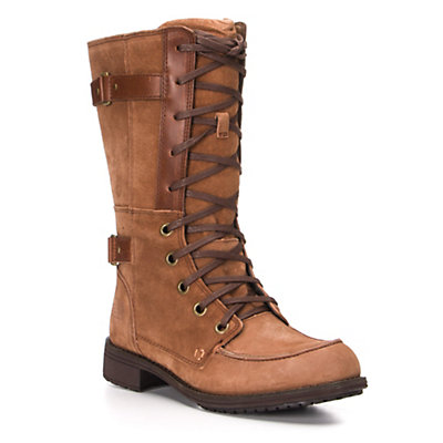 The North Face Bridgeton Lace Womens Boots, Brindle Brown-Plaza Taupe, viewer