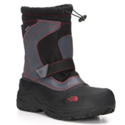 The North Face Alpenglow Pull-On Kids Boots, TNF Black-TNF Red, medium
