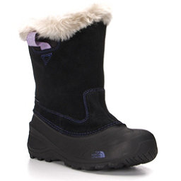 The North Face Shellista Pull-On II Girls Boots, TNF Black-Blue Iris, 256
