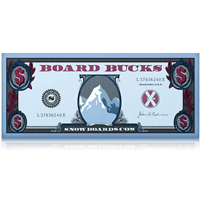 $100 Board Bucks, , viewer