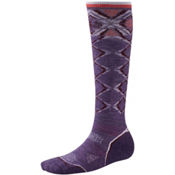SmartWool PhD Ski Light Womens Ski Socks, Desert Purple, medium