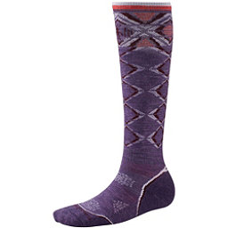SmartWool PhD Ski Light Womens Ski Socks, Desert Purple, 256