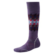 SmartWool PHD Snowboard Medium Womens Ski Socks, Desert Purple, medium
