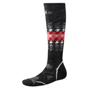 SmartWool PHD Snowboard Medium Womens Ski Socks, Black, medium