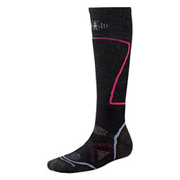 SmartWool PHD Ski Medium Womens Ski Socks, Black, 256