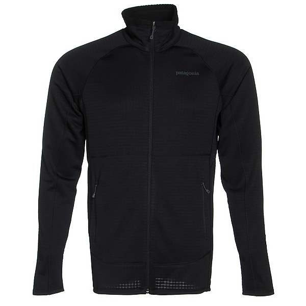 Patagonia R1 Full Zip Mens Jacket, Black, 600