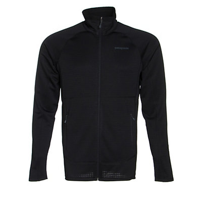 Patagonia R1 Full Zip Mens Jacket, Black, viewer