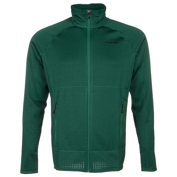 Patagonia R1 Full Zip Mens Jacket, Hunter Green, 600