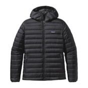 Patagonia Down Sweater Hoody Mens Jacket, Black, medium