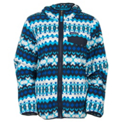Patagonia Lightweight Snap-T Hooded Jacket Womens Jacket, Cliff-Electron Blue, medium