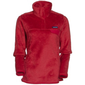 Patagonia Re-Tool Snap-T Pullover Womens Mid Layer, Sumac Red-Classic Red X Dye, medium