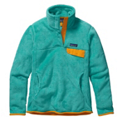 Patagonia Re-Tool Snap-T Pullover Womens Mid Layer, Howling Turquoise-Howling Turq, medium