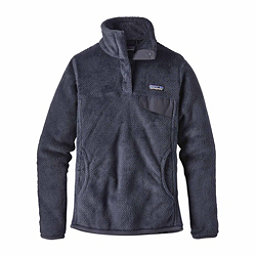 Patagonia Re-Tool Snap-T Pullover Womens Mid Layer, Prussian Blue-Smolder Blue, 256