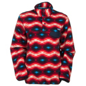 Patagonia Lightweight Synchilla Snap-T Pullover Womens Mid Layer, Wild Desert-Classic Red, medium