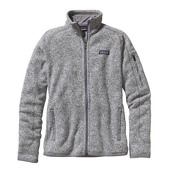 Patagonia Better Sweater Womens Jacket, Birch White, 600