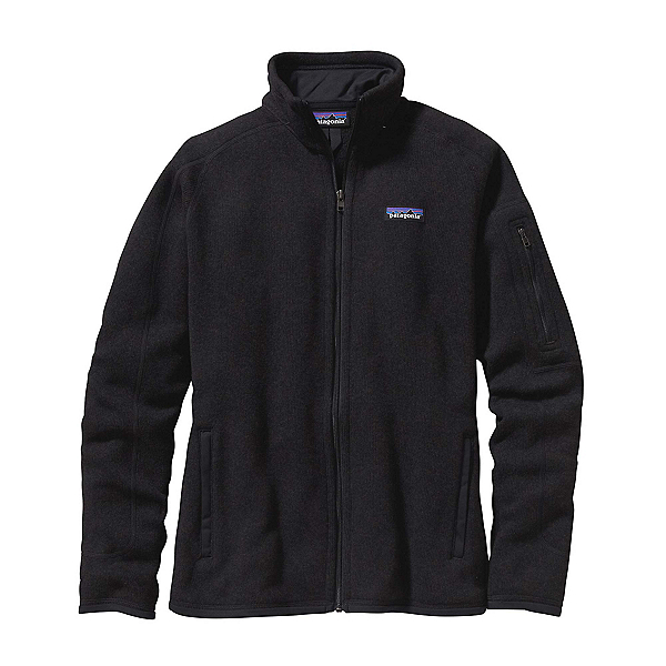 Patagonia Better Sweater Womens Jacket, Black, 600