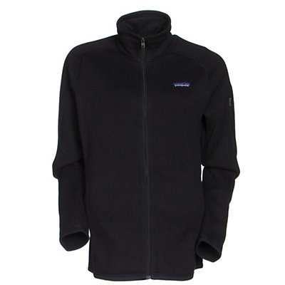 Patagonia Better Sweater Womens Jacket, Black, viewer