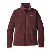 Patagonia Better Sweater Womens Jacket, Dark Ruby, medium