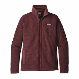 Patagonia Better Sweater Womens Jacket, Dark Ruby, 256