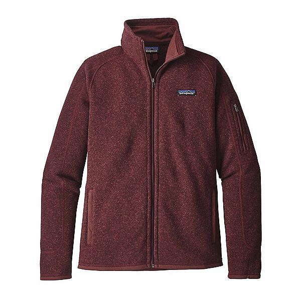 Patagonia Better Sweater Womens Jacket, Dark Ruby, 600
