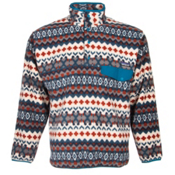 Patagonia Synchilla Snap-T Pullover Mens Mid Layer, Cliff-Underwater Blue, medium