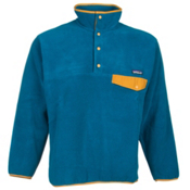 Patagonia Synchilla Snap-T Pullover Mens Mid Layer, Underwater Blue, medium