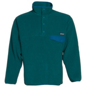 Patagonia Synchilla Snap-T Pullover Mens Mid Layer, Arbor Green, medium