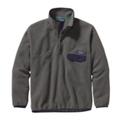 Patagonia Synchilla Snap-T Mens Mid Layer, Nickel-Navy Blue, medium