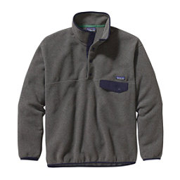 Patagonia Synchilla Snap-T Mens Mid Layer, Nickel-Navy Blue, 256