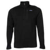 Patagonia Better Sweat 1/4 Zip Mens Mid Layer, Black, medium