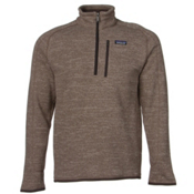 Patagonia Better Sweat 1/4 Zip Mens Mid Layer, Pale Khaki, medium