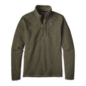 Patagonia Better Sweat 1/4 Zip Mens Mid Layer, Industrial Green, medium