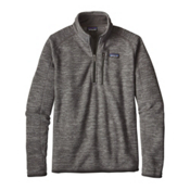 Patagonia Better Sweat 1/4 Zip Mens Mid Layer, Nickel, medium