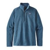 Patagonia Better Sweater 1/4 Zip Mens Mid Layer, Big Sur Blue, medium