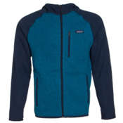 Patagonia Better Sweater Hoody Mens Jacket, Underwater Blue, medium