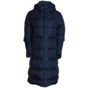 Patagonia Women's Down With It Parka, Navy Blue, medium