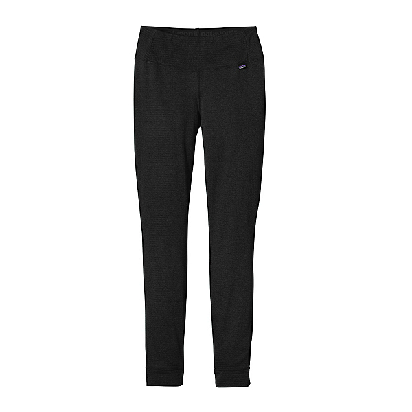 Patagonia Capilene Thermal Womens Long Underwear Pants, Black, 600