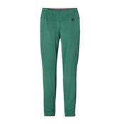 Patagonia Capilene Thermal Womens Long Underwear Pants, Arbor Green-Aqua Stone X Dye, medium