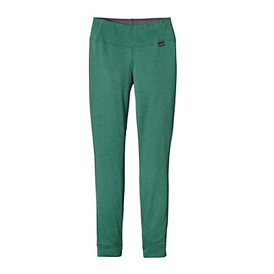 Patagonia Capilene Thermal Womens Long Underwear Pants, Arbor Green-Aqua Stone X Dye, viewer