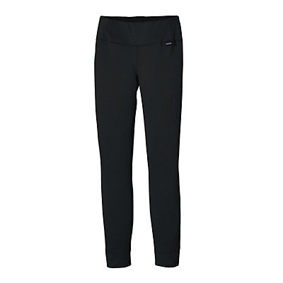 Patagonia Capilene Midweight Womens Long Underwear Pants, Black, viewer