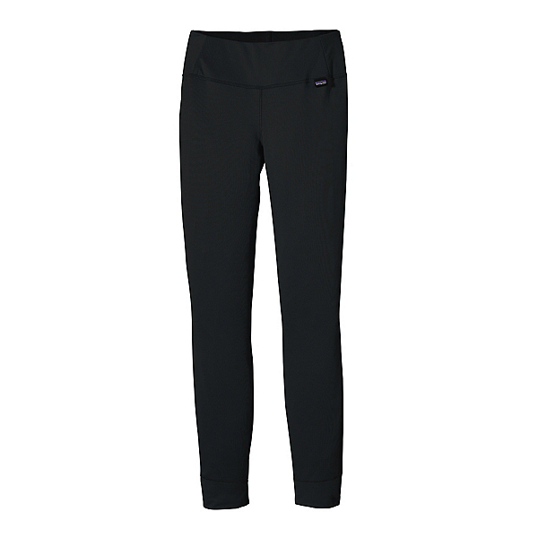 Patagonia Capilene Midweight Womens Long Underwear Pants, Black, 600