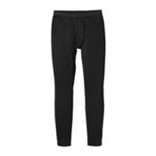 Patagonia Capilene Midweight Mens Long Underwear Pants, Black, medium