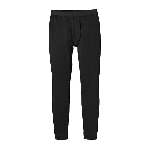 Patagonia Capilene Midweight Mens Long Underwear Pants, Black, 600