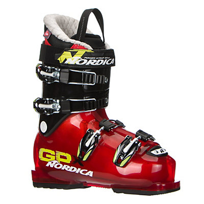 Nordica GPX 70 Kids Ski Boots 2017, Red-Black, viewer