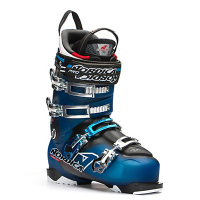 Nordica NRGy Pro 2 Ski Boots, Light Blue-Black, viewer