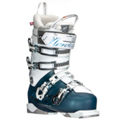 Nordica Belle Pro 95 Womens Ski Boots, Light Blue-Black, medium