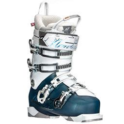 Nordica Belle Pro 95 Womens Ski Boots, Light Blue-Black, 256