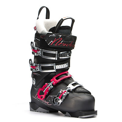 Nordica Belle 85 W Womens Ski Boots, Black-Black, viewer