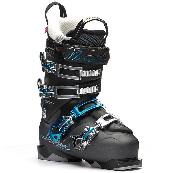 Nordica Belle 75 W Womens Ski Boots, Anthracite-Black, 600