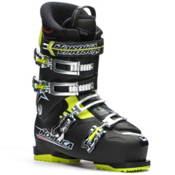 Nordica NXT N4 Ski Boots, Black-Lime, medium